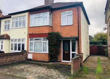 Thumbnail 3 bed semi-detached house to rent in Norwood Avenue, Romford