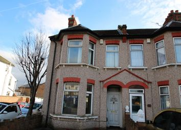Thumbnail 3 bed end terrace house to rent in Brigstock Road, Thornton Heath, Surrey