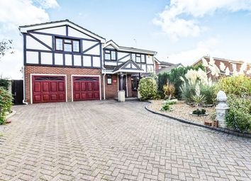 Thumbnail 5 bed detached house for sale in Heron Way, Mickleover, Derby