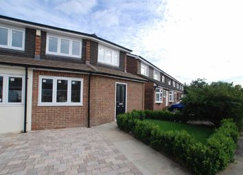 Thumbnail 2 bed end terrace house to rent in Lampits, Hoddesdon, Hertfordshire