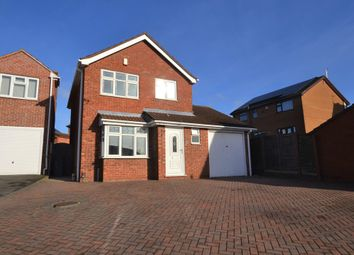 Thumbnail 3 bed detached house for sale in Somerset Avenue, Leicester