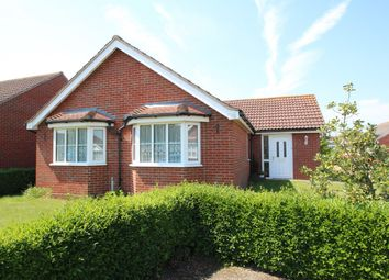 Thumbnail 3 bed detached bungalow for sale in Beech Grove, Rushmere St Andrew, Ipswich