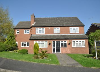 Thumbnail 5 bed detached house for sale in Elwyn Close, Stretton, Burton-On-Trent