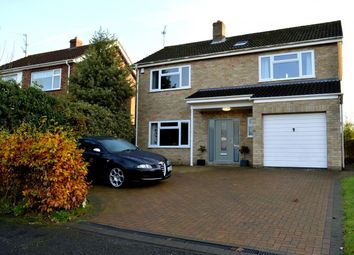 Thumbnail 4 bedroom detached house for sale in Rushmead Close, South Wootton, King's Lynn, Norfolk