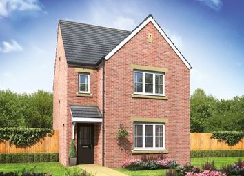 "Thumbnail 4 bed detached house for sale in ""The Lumley "" at Burwell Road, Exning, Newmarket"