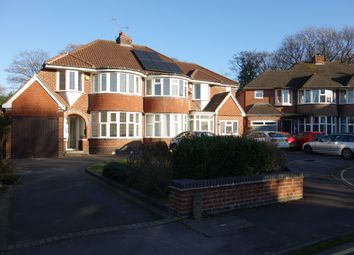 Thumbnail 3 bed semi-detached house to rent in Sutherland Avenue, Solihull