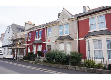 Thumbnail 1 bed flat for sale in Grenville Road, Plymouth