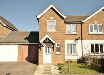 Thumbnail 3 bed terraced house to rent in Longford Way, Didcot