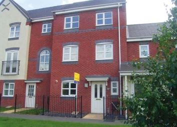 Thumbnail 4 bed terraced house to rent in Horninglow Road North, Horninglow, Burton-On-Trent