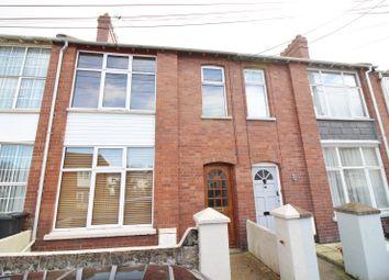 Thumbnail 3 bed terraced house for sale in Carrington Terrace, Barnstaple