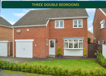 Thumbnail 3 bed detached house for sale in Prince Drive, Oadby, Leicester