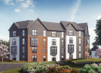 "Thumbnail 2 bed flat for sale in ""The Piel "" at Powell Duffryn Way, Barry"