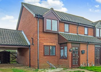 Thumbnail 2 bed semi-detached house for sale in Anchor Court, Great Yarmouth