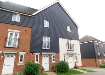 Thumbnail 3 bed town house for sale in Phoenix Way, Stowmarket