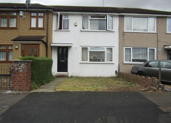 Thumbnail 3 bedroom terraced house for sale in Rosebank Avenue, Hornchurch