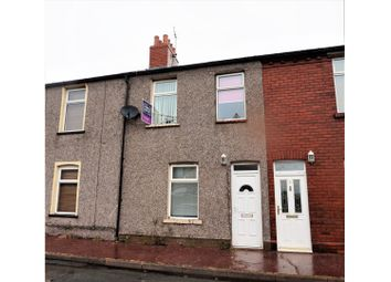 Thumbnail 3 bed terraced house for sale in Macadam Street, Barrow-In-Furness