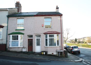 Thumbnail 2 bedroom end terrace house for sale in Welsford Avenue, Stoke, Plymouth