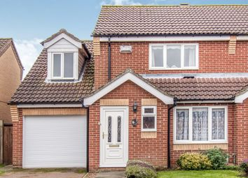 Thumbnail 3 bed semi-detached house for sale in Ray Bond Way, Aylsham, Norwich