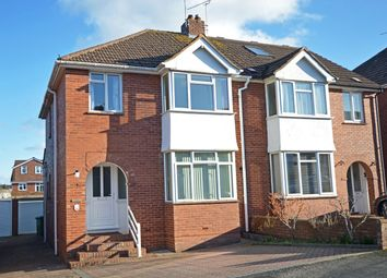 Thumbnail 3 bed semi-detached house for sale in Madison Avenue, Exeter