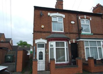 Thumbnail 3 bed end terrace house for sale in Stafford Street, Leicester