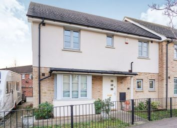 Thumbnail 3 bed end terrace house for sale in Hogsden Leys, St. Neots