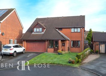 Thumbnail 5 bed detached house for sale in Rowan Croft, Clayton-Le-Woods, Chorley