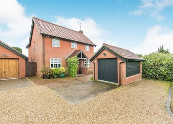 Thumbnail 3 bed detached house for sale in Playford Lane, Rushmere St. Andrew, Ipswich