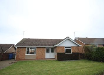 Thumbnail 2 bed detached bungalow to rent in St. Leonards Close, Kettering