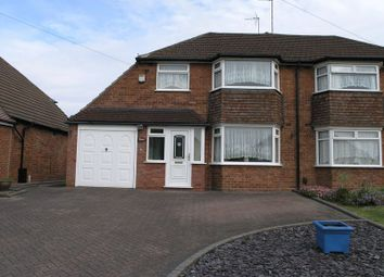 Thumbnail 3 bed semi-detached house for sale in Dunstall Road, Hayley Green, Halesowen