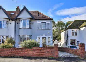 Thumbnail 3 bedroom semi-detached house for sale in Redlands Road, Penarth