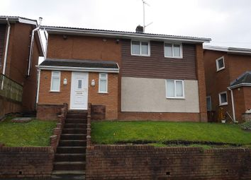 Thumbnail 3 bed detached house to rent in Vale View, Risca, Newport.