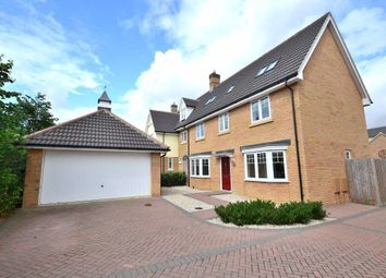 Thumbnail 5 bed detached house to rent in Woodlands Walk, Woodlands Park, Great Dunmow