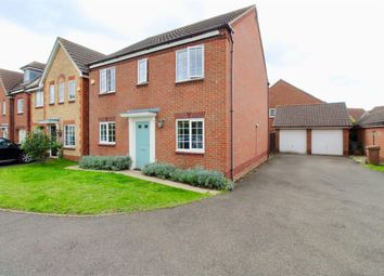 Thumbnail 4 bed detached house for sale in Dragonfly Close, Hampton Hargate, Peterborough
