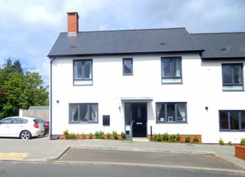 Thumbnail 3 bed end terrace house to rent in Milbury Farm Meadow, Exminster, Exeter