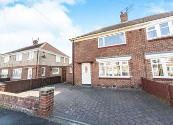 Thumbnail 2 bed semi-detached house for sale in Rosemary Road, Redhouse, Sunderland