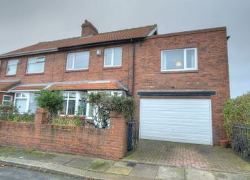 Thumbnail 4 bed semi-detached house for sale in Gibside Gardens, Newcastle Upon Tyne