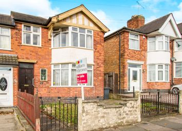Thumbnail 3 bed end terrace house for sale in Gwendolen Road, Leicester