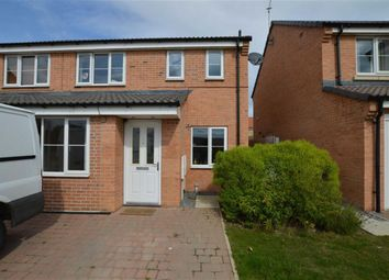 Thumbnail 3 bed semi-detached house to rent in Miskin Close, Hornsea, East Yorkshire