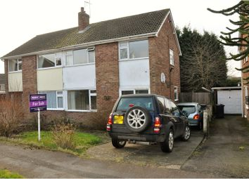 Thumbnail 3 bed semi-detached house for sale in Ferrers Close, Ashby-De-La-Zouch