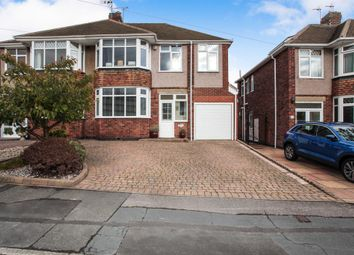 Thumbnail 4 bedroom semi-detached house for sale in Frobisher Road, Styvechale, Coventry