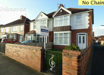 Thumbnail 3 bed semi-detached house for sale in Marlborough Road, Town Moor, Doncaster.