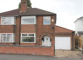 Thumbnail 3 bed semi-detached house for sale in Wellesley Avenue, Sunnyhill, Derby