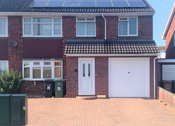 Thumbnail 4 bed semi-detached house for sale in Fenland Road, King's Lynn