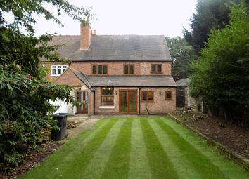 Thumbnail 4 bed semi-detached house to rent in Thornhill Road, Streetly, Sutton Coldfield