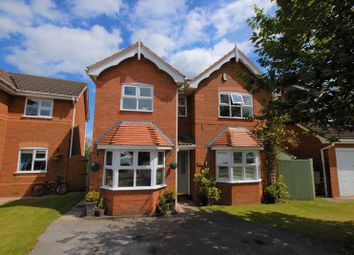 Thumbnail 4 bed detached house for sale in Wilsford Avenue, Uttoxeter