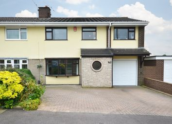 Thumbnail 4 bed semi-detached house for sale in Langland Drive, Blurton, Stoke-On-Trent