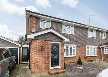 Thumbnail 3 bed semi-detached house for sale in Yarmouth Close, Furnace Green, Crawley