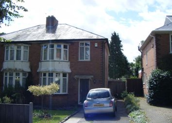 Thumbnail 3 bed semi-detached house to rent in Elmdon Road, Acocks Green, Birmingham