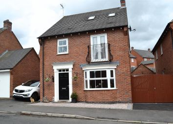 Thumbnail 5 bedroom detached house for sale in Greenmount Street, Church Gresley, Swadlincote