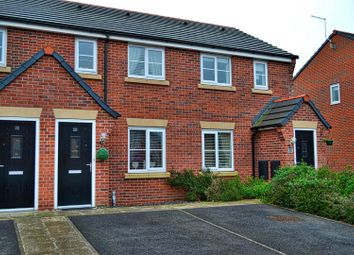 Thumbnail 2 bed mews house for sale in Kingfisher Crescent, Sandbach